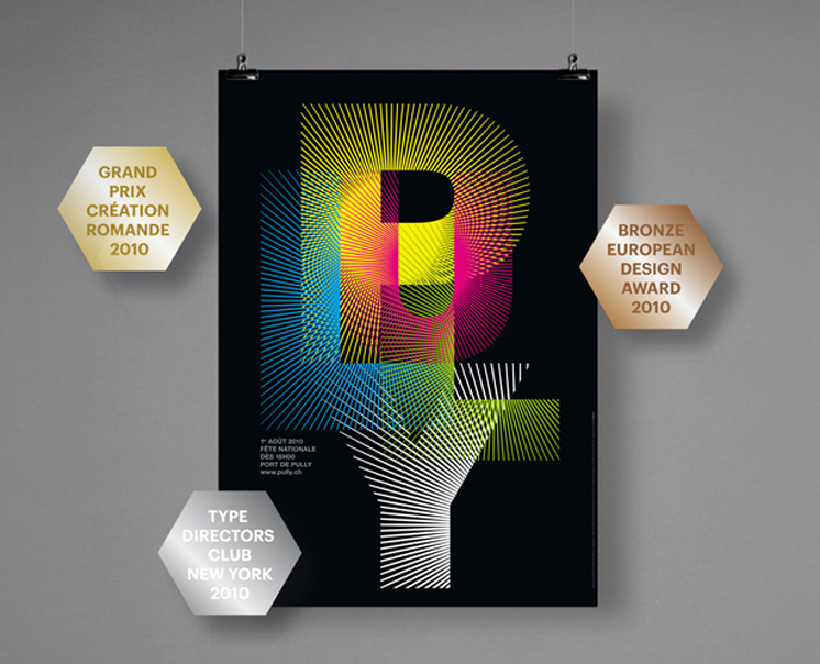 Type Directors Club 2010<br>European Design Award 2010<br>Grand Prix de la Creation Romande 2010